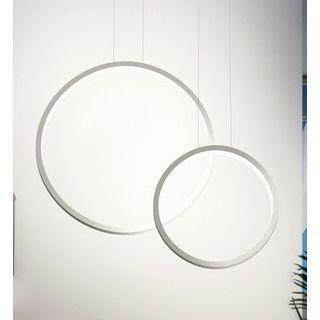 Cerco Twin Silver Aluminum Pendant Lamp By Contempo Lights