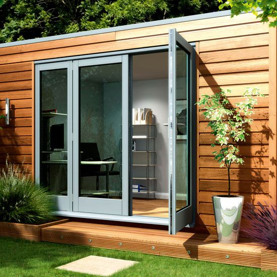 Modern Shed Roof House Designs 4 garden sheds and summerhouses Modern Cube from Decorated Shed Jzsox0PF