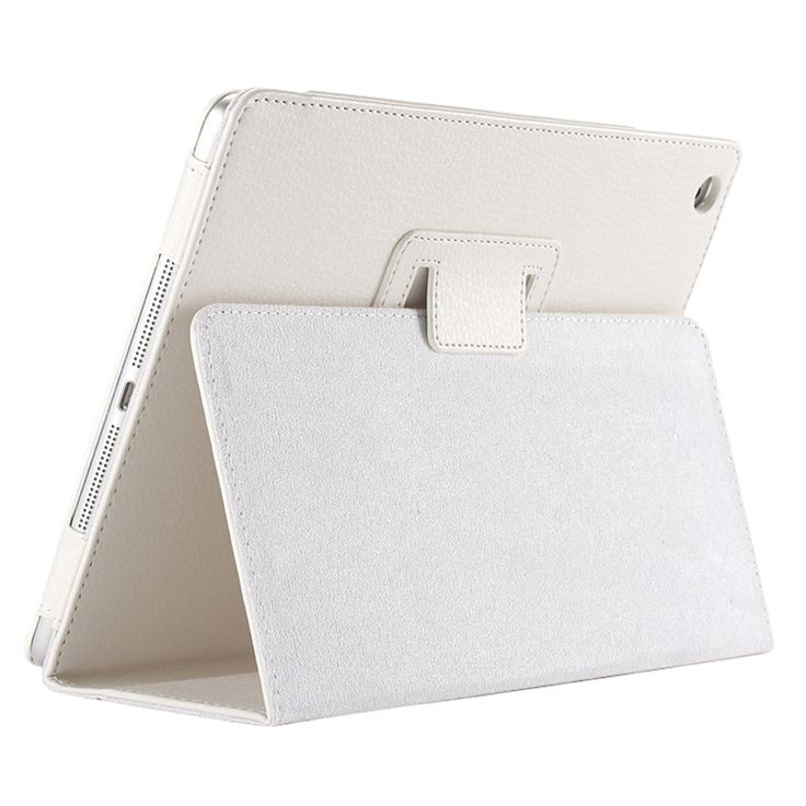 Business Flip Litchi Leather Case Smart Stand Holder For Apple ipad2 3 4 Magnetic Auto Wake Up Sleep CoverWhite #Affiliate