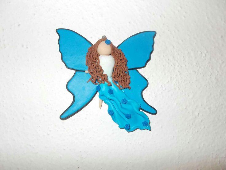 Big fairy on wall
