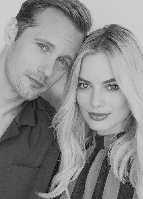Alexander Skarsgard and Margot Robbie...Tarzan and Jane