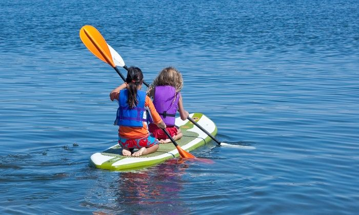 Glencoe Park District - Glencoe Beach: Admission for Two to Glencoe Beach with One-Hour Paddle-Board or Kayak Rental (Up to 50% Off)