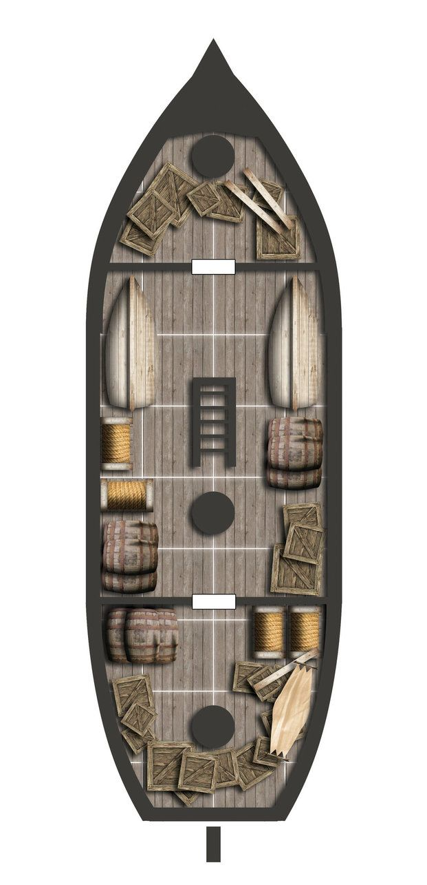 Dnd Pirate Ship Map: 115 Best D&d Boat Maps Images On