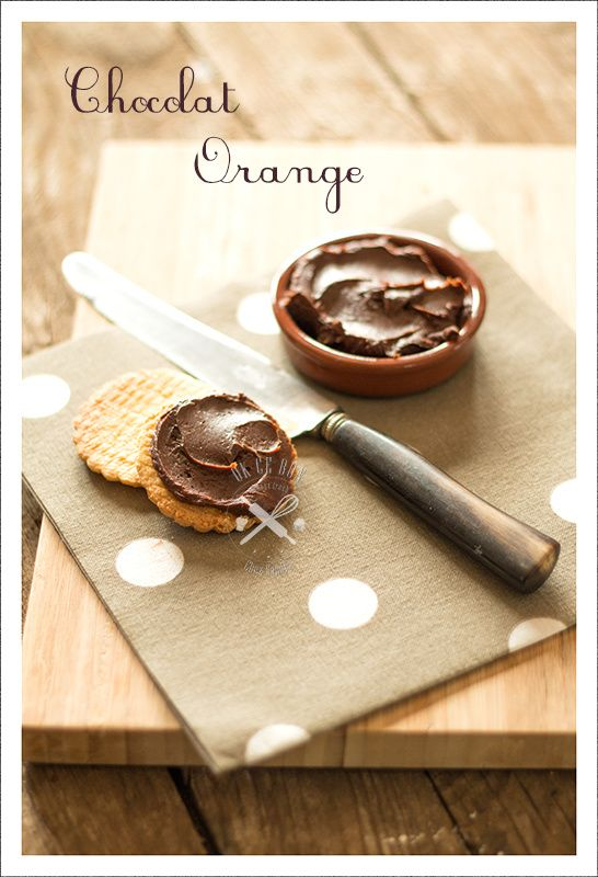 Pâte à tartiner chocolat et orange