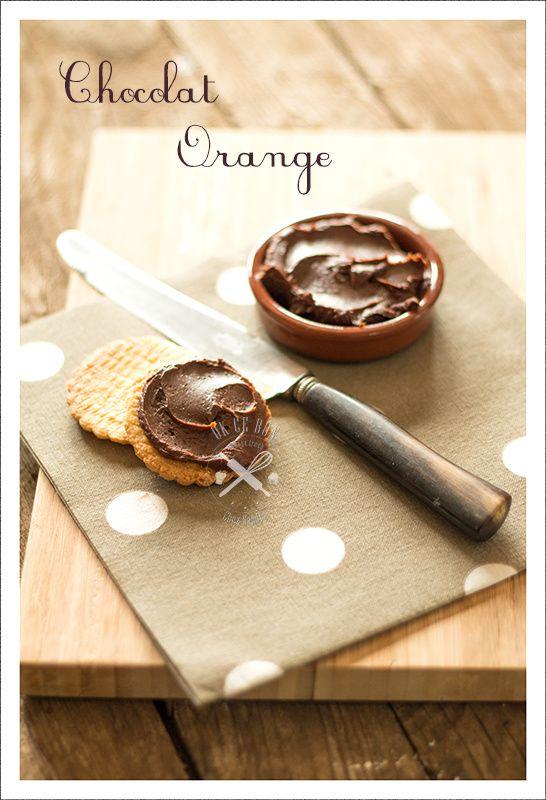 Pâte à tartiner chocolat et orange