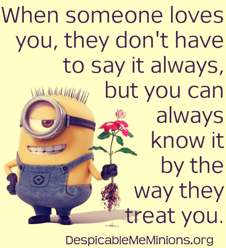Top 30 Minion Love quotes                                                                                                                                                                                 More