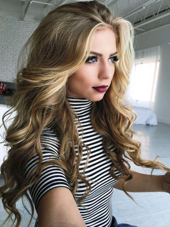 light blonde to dark blonde hair dye