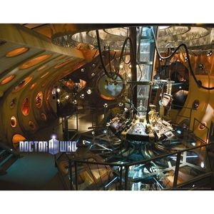 Doctor Who: Wallpaper: TARDIS Interior (Product Image) (One Of My Favorite  Images Of All Times. Part 31