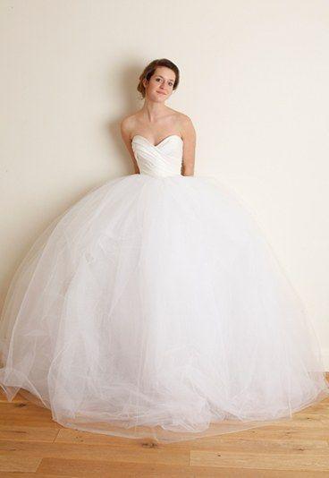 Robe de mariée David Purves 2012 : robe bustier modèle Marianne  - Robe de mariée princesse: 15 modèles de princesse pour mon mariage