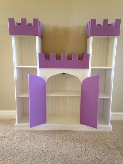 Castle Bookcase By Brian Hulett Woodworking