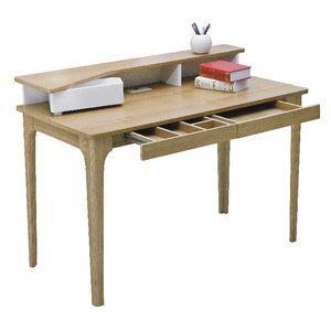 Staten Hutch Desk Love the colour and simplistic style