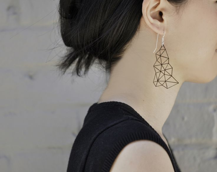 Delaunay earrings - Acrylic