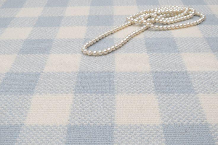 Bellbridge Carpet - Gingham design: Mercer St. II / Crystal Springs