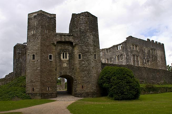 Berry Pomeroy Castle