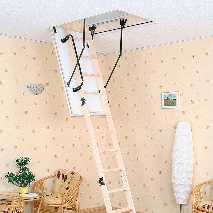 Meisterholz Bodentreppe Thermo Maxi (130 x 70 cm, Wärmedämmung: 0,91 W/m²K)