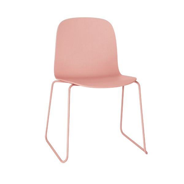 Visu chair, steel frame