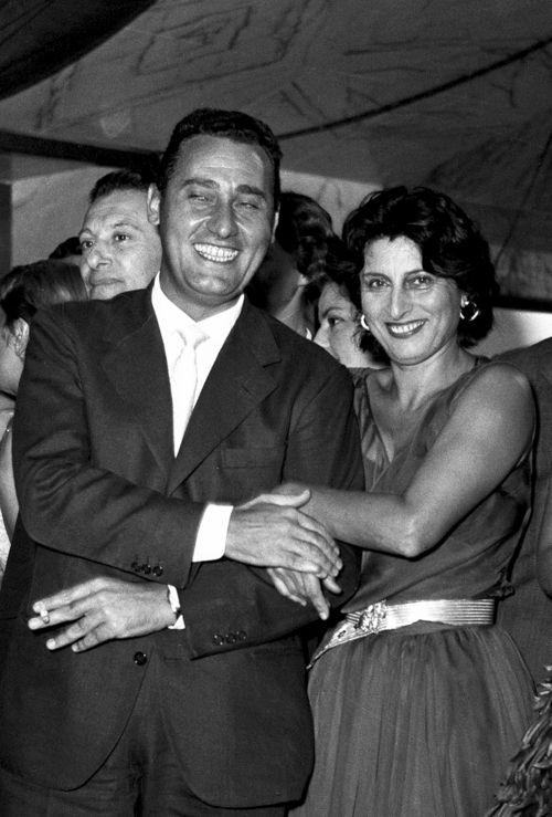 Alberto Sordi & Anna Magnani