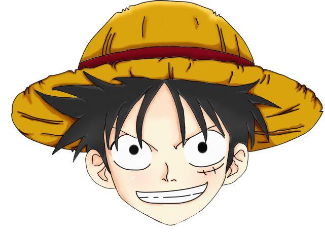 Mentahan Gambar Kepala Anime One Piece Png