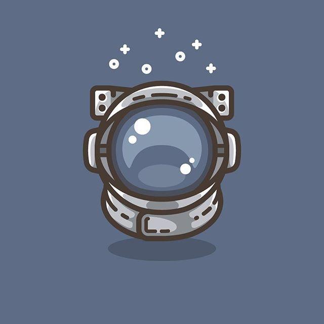 Astronaut Helmet. #illustration #illustrator #adobe #adobeillustrator #vector #graphicdesign #graphic #design #designer #art #digitalart #digital #logo #icon #icona #space #spaceman #astronaut #helmet
