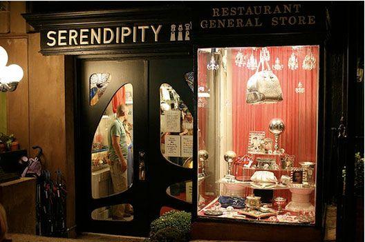 Serendipity 3 - If you're in the Big Apple, stopping at this place is a MUST. I recommend grabbing a frozen hot chocolate. If the place was good enough for Warhol...it's good enough for me!