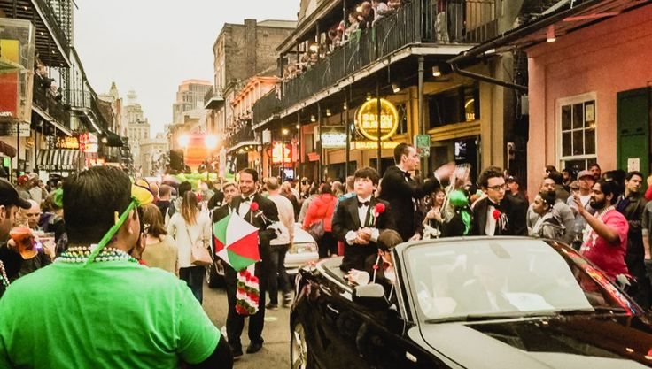 Saint Patrick's day in New Orleans #NOLA