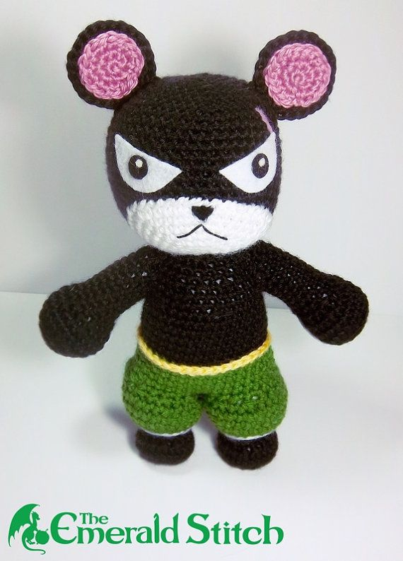 """MY CAT!"" Crocheted Pantherlily from Fairy Tail"