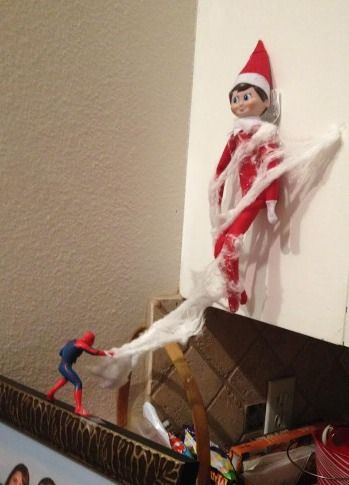 200 Elf on the Shelf Ideas. @Shannon Bellanca Bellanca Bellanca Bellanca Bellanca Abildstrom you have boy like me, so I thought u guys would like this one