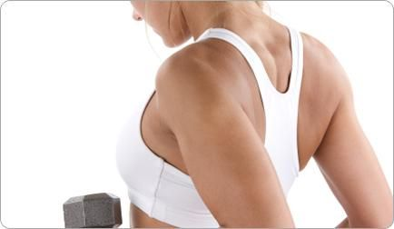Great tips for home workouts to sculpt your back. Perfect for a Bridal Workout...get out of here, back fat!
