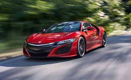 Acura NSX Reviews - Acura NSX Price, Photos, and Specs - Car and Driver