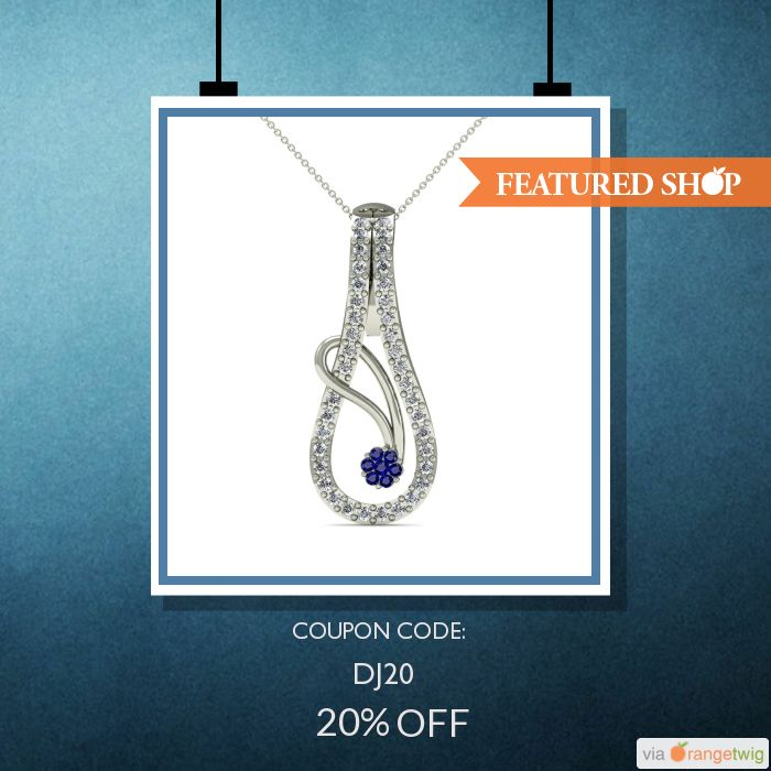 Get ready to be dazzled. In Ecwid store, Diaonj, you'll find exquisite and high quality diamond and gold jewelry crafted just for you. They are using OrangeTwig to promote their products and discounts. To start promoting your products and discounts in such and many more layouts, click on the pin.