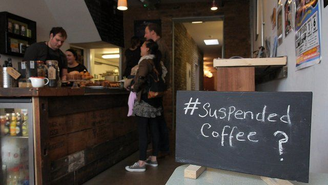 Would you buy a 'suspended coffee' for someone in need?