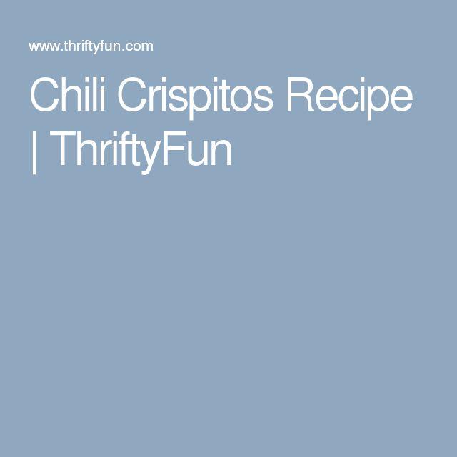 Chili Crispitos Recipe   ThriftyFun
