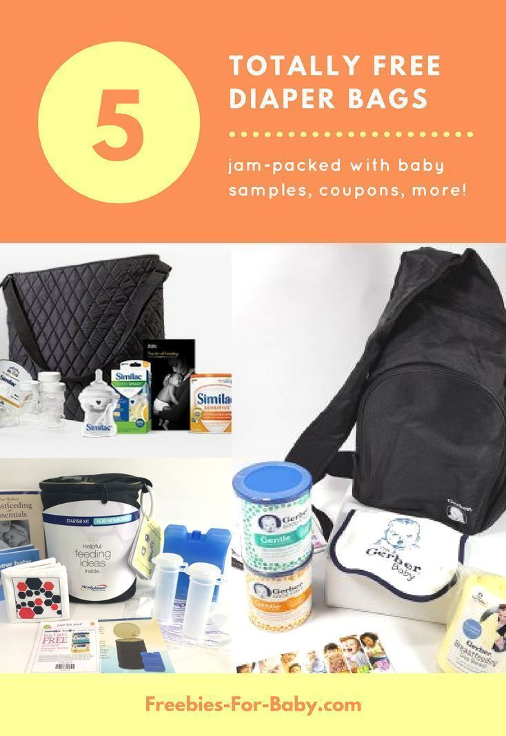 How to get free baby stuff. Did you know you can get free diaper bags filled  with free baby stuff from Enfamil c55dad3c57b41