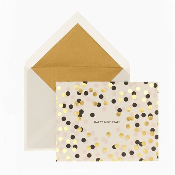 Cute & stylish holiday cards: Kate Spade, katespade.com #InStyle