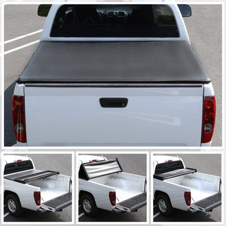 Outad Soft Roll Up Tonneau Cover Lamp Design 1988 2007 For Chevy