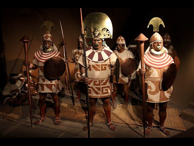 Moche warriors. The cultures of the peruvian coast are ...