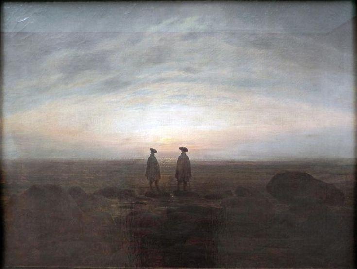 Two Men by the Sea - Friedrich Caspar David