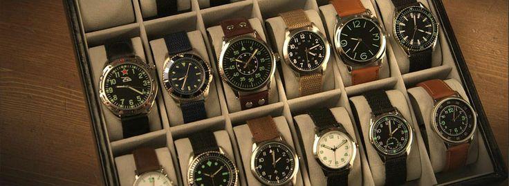 Наручные часы военного образца