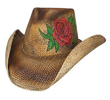 Montecarlo Bullhide Hats LOVE STORY Genuine Panama Straw Western Cowboy Hat  Review 3626d5b8cb23