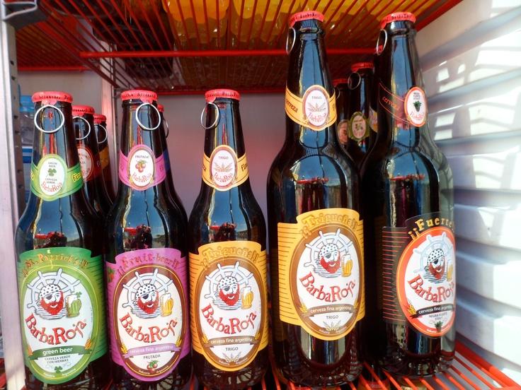 Cerveza artesanal #BarbaRoja #Argentina
