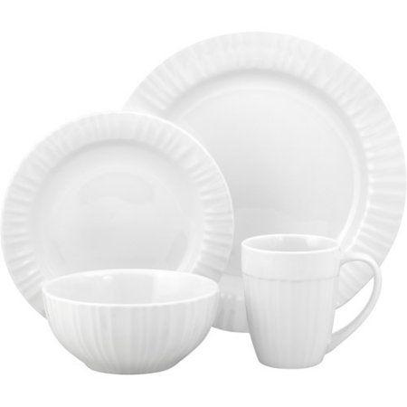 Corningware French White 16-Piece Dinnerware Set