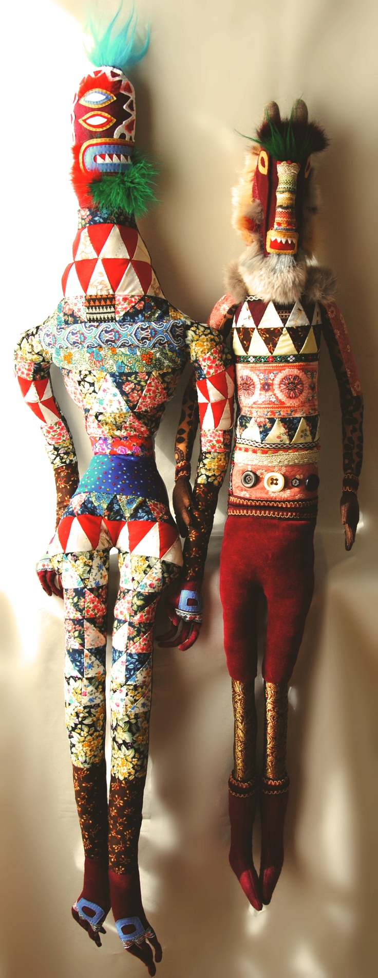 Muñecos de Pedro Tornero.