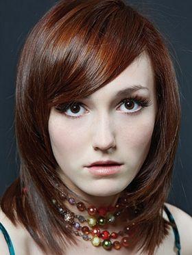 Sleek Medium Layered Hair
