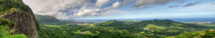Pali Overlook: View of the Windward Coast