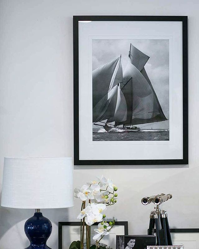 ~~ C O M P E T I T I O N ~ T I M E! ~~ How would you like to see this classic black and white framed sailing print in your home? This beautiful piece has a semi gloss black frame, measures 65 x 84 cm, and retails at $200 ⛵ . . Here's how to WIN it and have it shipped to you, free! . . Follow us, then like and share this post. When sharing, you must use the hashtag #winwithhamptonsstyle . . ONE lucky winner will be chosen at random on the 24th March. Note that this competition is valid for…
