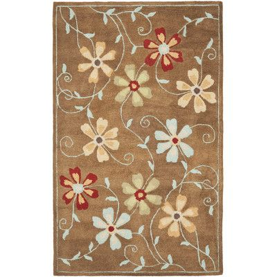 Andover Mills Hutsonville Camel / Multi Contemporary Rug Rug Size: 4' x 6'