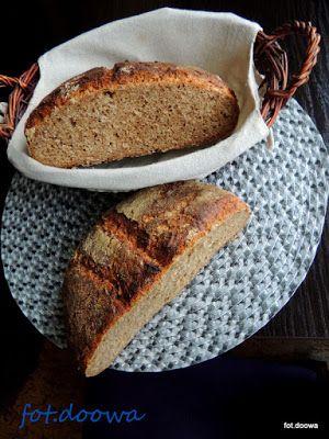Moje Małe Czarowanie: Chleb na zakwasie z dzikich drożdży: śliwek, rodzy...