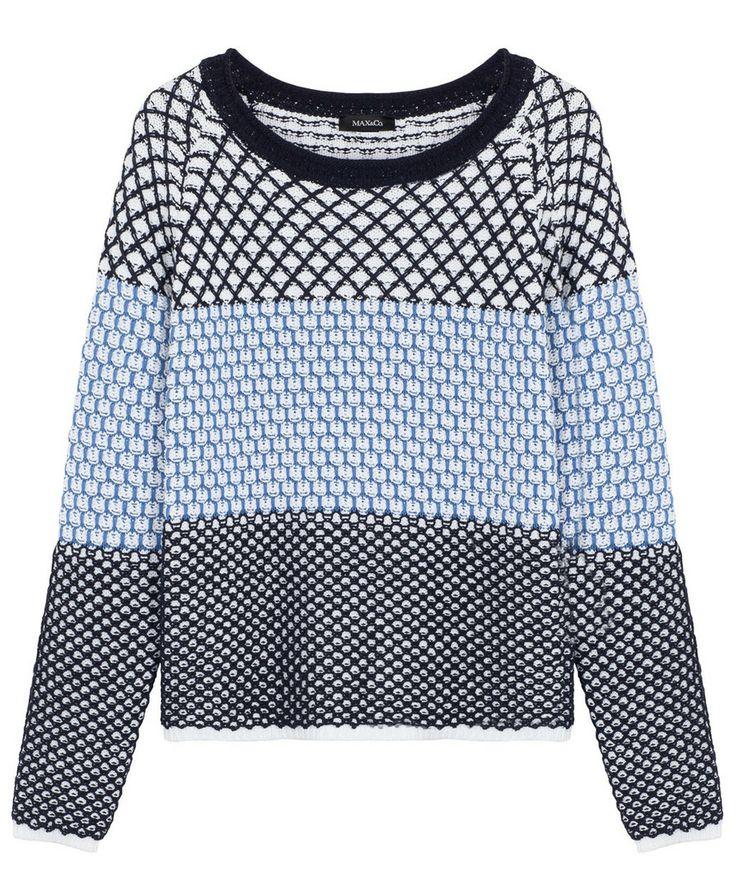 SAMOVAR Pull girocollo di misto cotone | MAX&Co. Online Shop