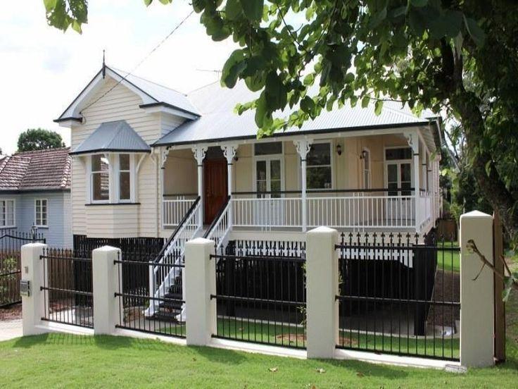1000 images about exterior on pinterest exterior colors for Queenslander exterior colour schemes