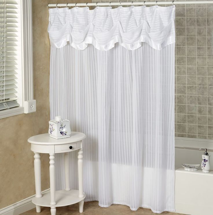 Bathroom valances